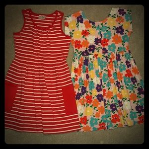 2 Hanna Andersson dresses size 130 US 8